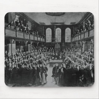 The House of Commons, 1833 Mousepad