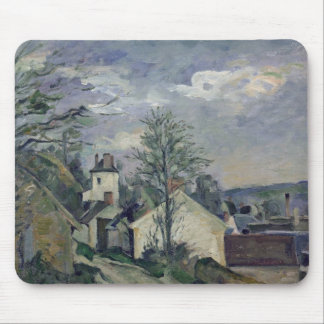 The House of Doctor Gachet  at Auvers, 1872-73 Mouse Mat