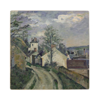 The House of Doctor Gachet  at Auvers, 1872-73 Wood Coaster