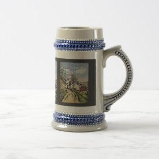 The House Of Dr. Gachet By Paul Cézanne Coffee Mug