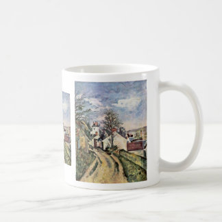 The House Of Dr. Gachet By Paul Cézanne Coffee Mugs