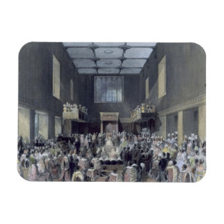 The House of Lords, Her Majesty opening the Sessio Rectangular Photo Magnet