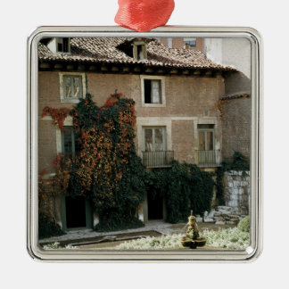 The house of Miguel Cervantes Christmas Ornament
