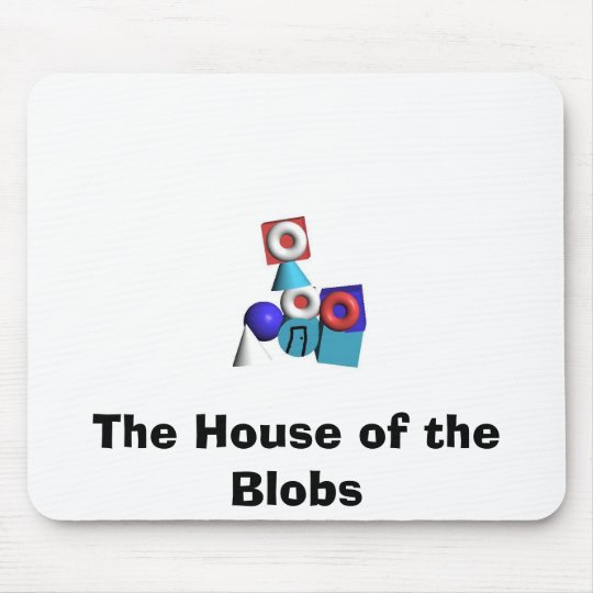 The House of the Blobs Mouse Mat