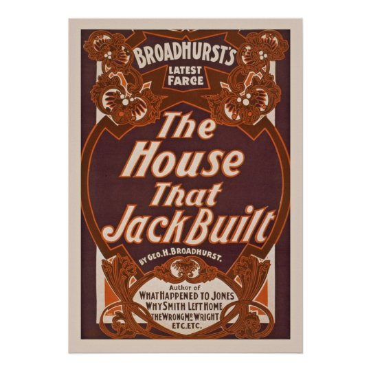The House That Jack Built Vintage Performing Arts
