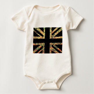 The house that Jack burnt Baby Bodysuit