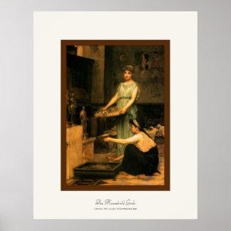 The Household Gods ~ John William Waterhouse Print