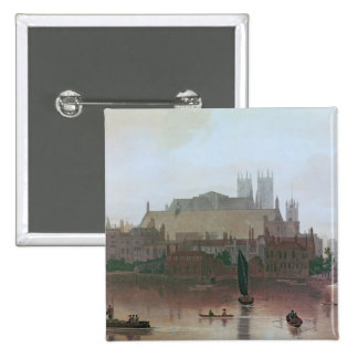 The Houses of Parliament 15 Cm Square Badge