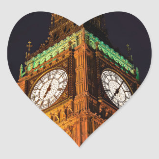 The Houses of Parliament clock tower, Westminster Sticker