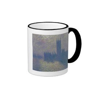 The Houses of Parliament, Stormy Sky, 1904 Coffee Mug