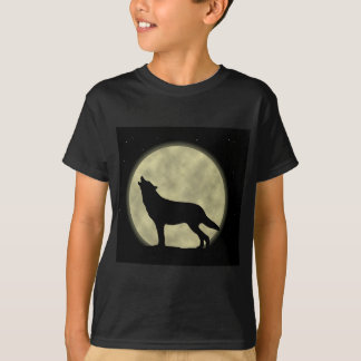 The Howling Wolf in the Night T-Shirt