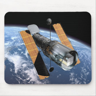 The Hubble Space Telescope - Artistic Rendering Mouse Pad