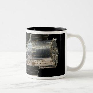 The Hubble Space Telescope Two-Tone Coffee Mug