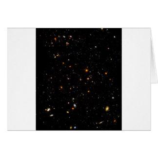 The Hubble Ultra-Deep Field Greeting Card