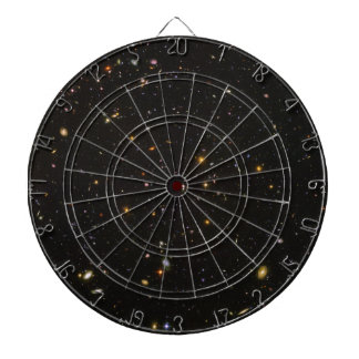 The Hubble Ultra Deep Field Space Image Dartboard