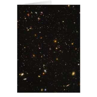 The Hubble Ultra Deep Field Space Image Greeting Card
