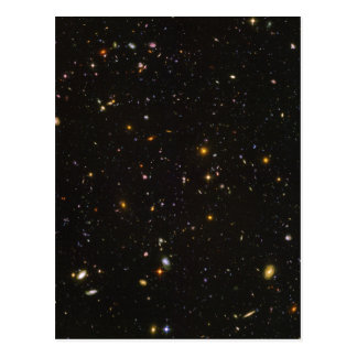 The Hubble Ultra Deep Field Space Image Postcard