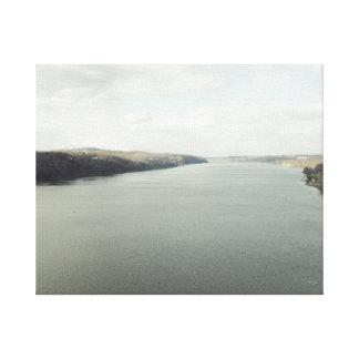 The Hudson River Canvas Print