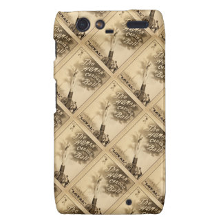The Human Cannon Ball Vintage Circus Act Victorian Droid RAZR Cover