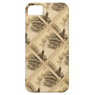 The Human Cannon Ball Vintage Circus Act Victorian iPhone 5 Covers