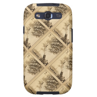 The Human Cannon Ball Vintage Circus Act Victorian Galaxy S3 Case