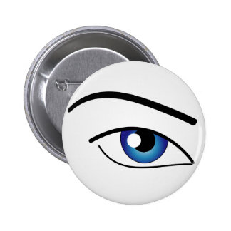 The Human Eye 6 Cm Round Badge