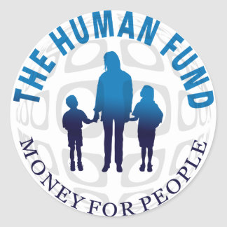The Human Fund Money for People  Stickers