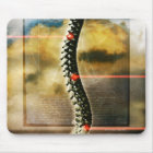The human spine mouse mat