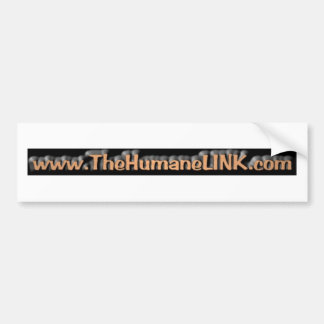 The Humane Link Bumper Stickers