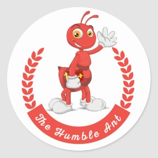 The Humble Ant Stickers
