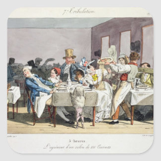The hundred-seater restaurant: 5 o'clock, from 'Su Sticker