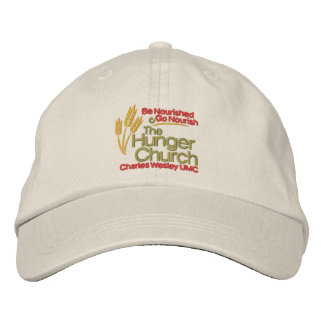 The Hunger Church Hat Embroidered Hats