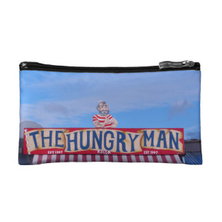 The Hungry Man - Rozel, Jersey, Channel Islands Makeup Bag