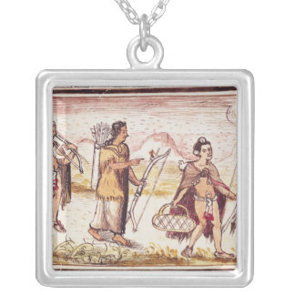The Hunt, 1579 Silver Plated Necklace