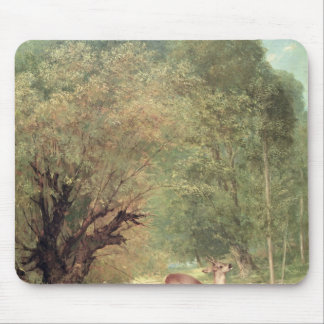 The Hunted Roe-Deer on the alert, Spring, 1867 Mouse Mat