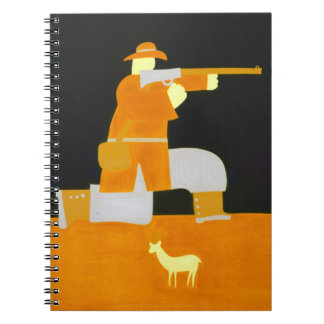 The Hunter 1998 Spiral Note Books