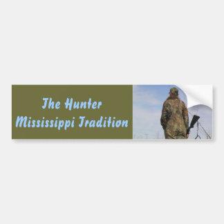 The Hunter - A Mississippi Tradition Car Bumper Sticker