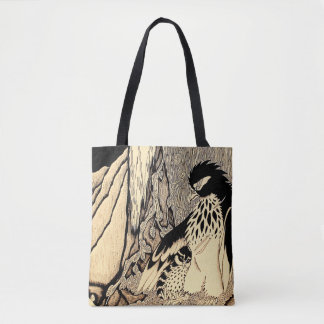 """""""The Hunter And The Prey"""" Tote Bag"""