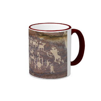 The Hunter rock art panel Coffee Mug