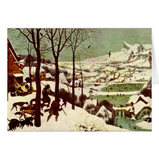 The Hunters in the Snow - 1565 Greeting Card