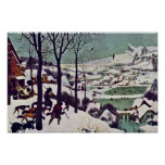 The Hunters In The Snow,  By Bruegel D. Ä. Pieter Posters