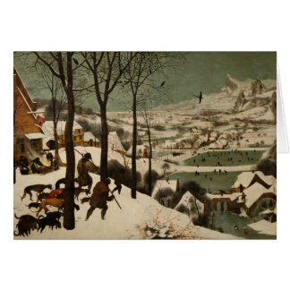The Hunters in the Snow Pieter Bruegel Christmas Card