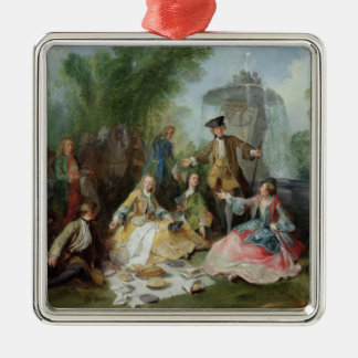The Hunting Party Meal, c. 1737 Christmas Ornament