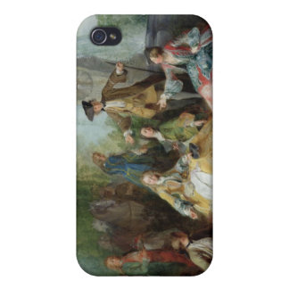 The Hunting Party Meal, c. 1737 iPhone 4 Cover