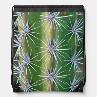The Huntington Botanical Garden, Octopus Cactus Drawstring Bag