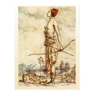 The Huntress Diana Postcard