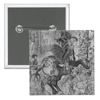 The Hunts of Maximilian, Capricorn 15 Cm Square Badge