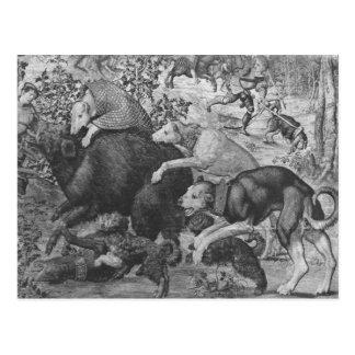 The Hunts of Maximilian, Capricorn Postcard