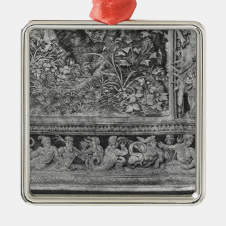 The Hunts of Maximilian, Gemini Silver-Colored Square Decoration