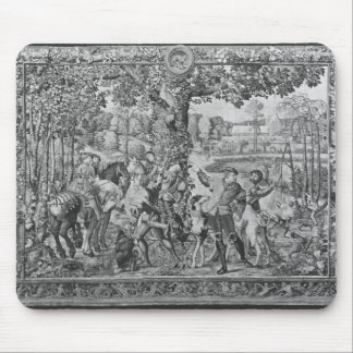 The Hunts of Maximilian, Leo, The Stag Hunt Mouse Mat